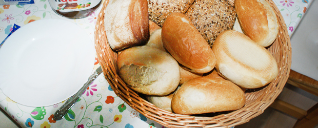 Der Broetchenservice im Haus Heidi