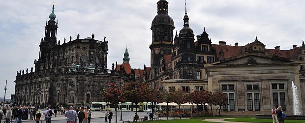 Historische Altstadt Dresden mit Zwinger