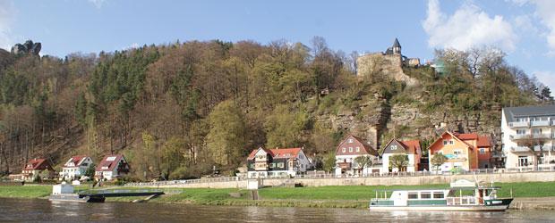 Haus Heidi**** Rathen | Moderne Ferienwohnungen direkt an der Elbe im Kurort Rathen