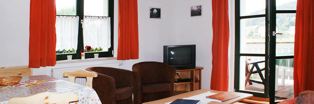 Schrammsteine Ferienwohnung im Haus Heidi Rathen