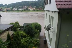 Haus Heidi Rathen Hochwasser 2013