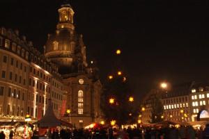 Histor. Weihnachtsmarkt an der Frauenkirche