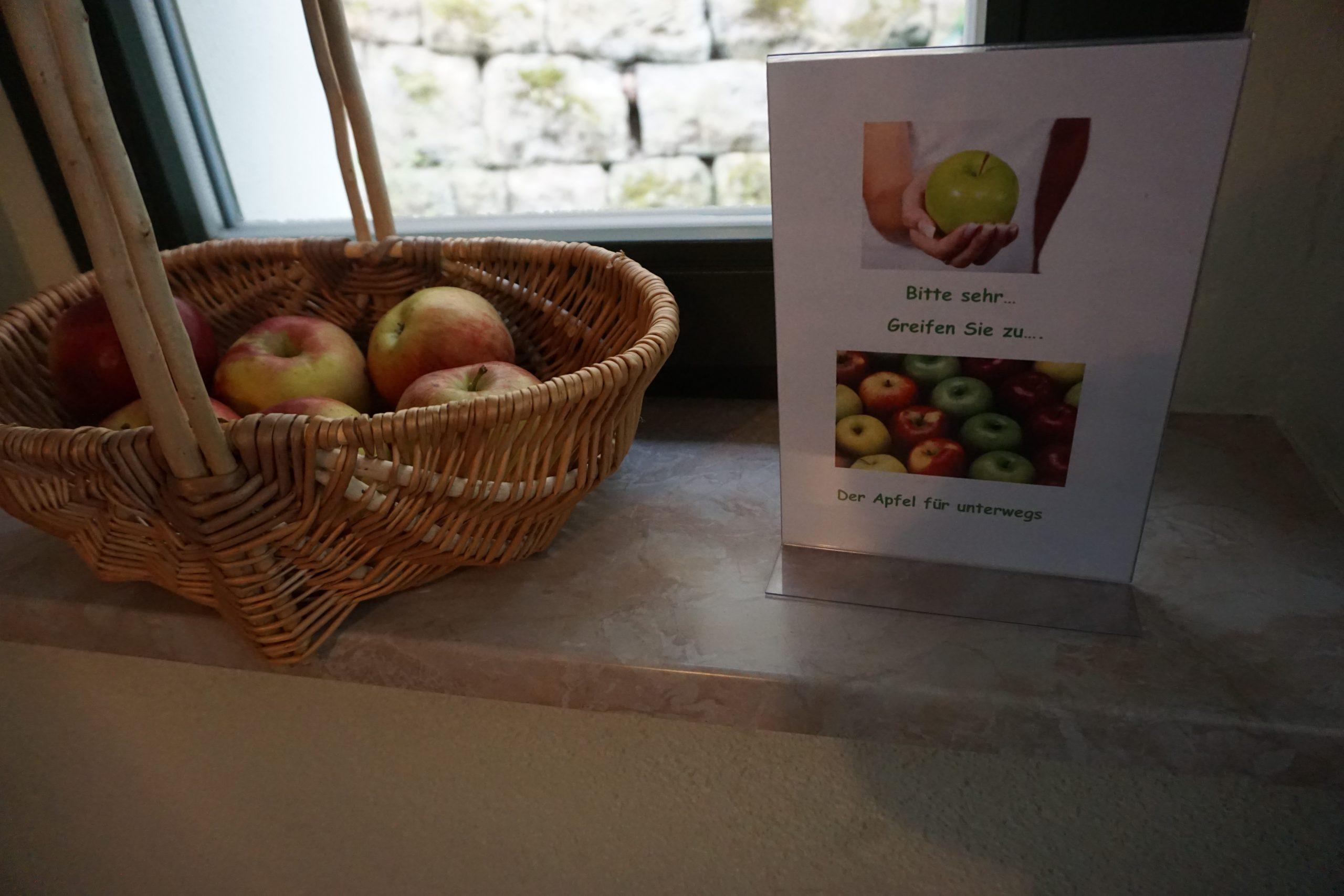 Fruchtiges Angebot im Haus Heidi Rathen