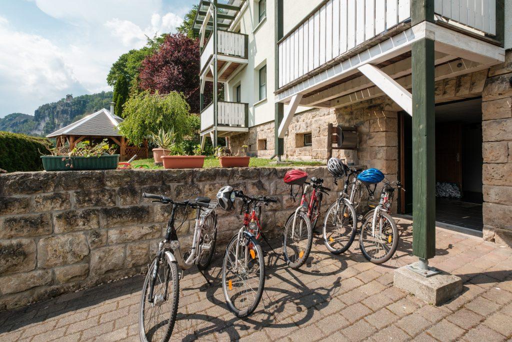 Fahrradverleih für Gäste im Haus Heidi Raten inklusive.